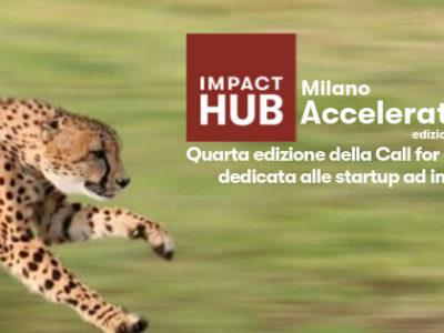 Impact Hub Milano lancia IHM Acceleration 2019