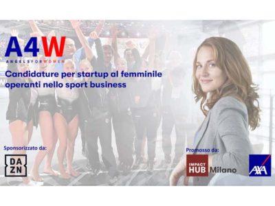 Angels4WomeneDAZNItalia: parte una nuova bellissima avventura nello sport business
