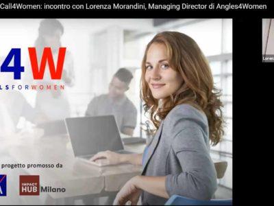 Vi spiego come diventare imprenditrice – webinar con Lorenza Morandini per Call4Women di BHeroes – Endeavor