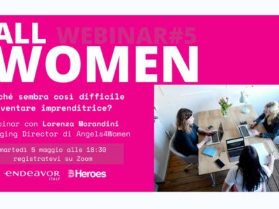 Lorenza Morandini -Webinar Call4Women – 5 Maggio 2020
