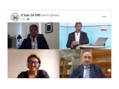 Lorenza Morandini |diretta Facebook de Il Sole 24 Ore