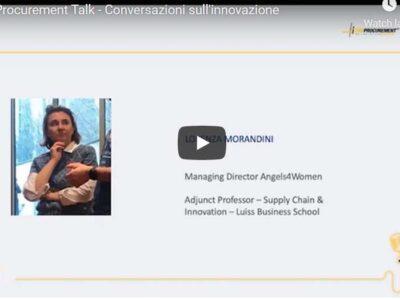 The Procurement Talk – Conversazioni sull'innovazione | Lorenza Morandini