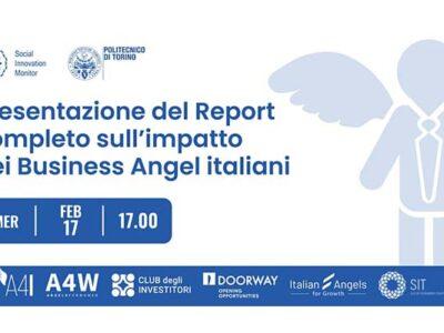 17 febbraio 2021 | Report completo sull'impatto dei Business Angel italiani