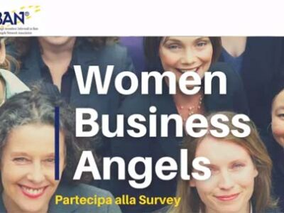 Survey Women Business Angel 2021 di IBAN (Italian Business Angels Network)