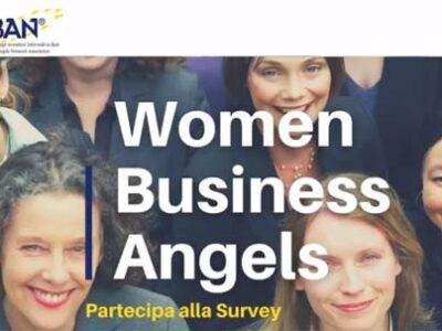 Survey Women Business Angel 2021 di IBAN (Italian Business Angels Network)